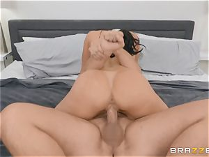 aged brown-haired ultra-cutie Kendra zeal riding fuck-stick