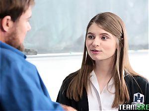 kinky schoolgirl Alice March fuckig her tutor