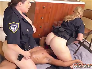 Russian cougar ass fucking and ash-blonde fledgling juices pie black male squatting in home gets our