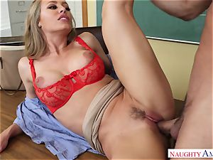 Nicole Aniston - My first-ever professor, who told me about intercourse and took my pink cigar on the desk