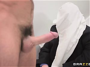 humble spouse observes his wifey Monique Alexander get butt-fucked