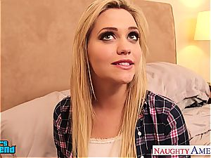 hotty Mia Malkova boinks supreme and left with jizz on her