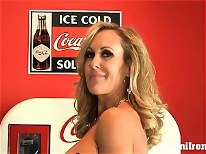 torn up Brandi love unclothes and milks