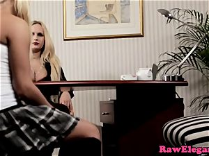 Angel Wicky likes steaming lesbian activity