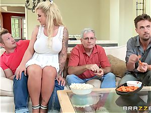 nasty stepmom Ryan Conner is packed by her stepson