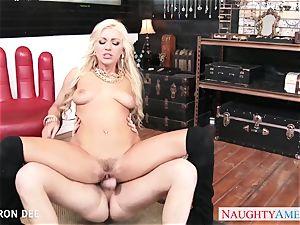 erotic Cameron Dee take fuckpole