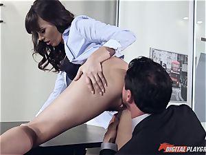 Dana DeArmond and Tommy Gunn plumbing in the office