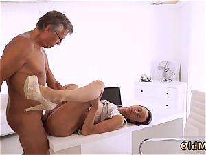 elderly guy smashes nubile eventually she s got her chief beef whistle