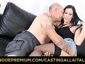 audition ALLA ITALIANA - dirty new-cummer ass-fuck casting