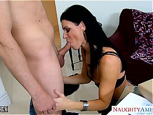 astounding India Summer in stocking deep throats chisel