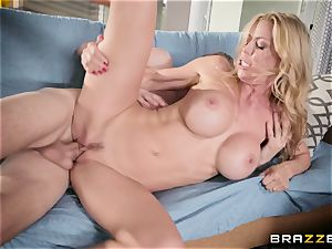 Alexis Fawx takes on a huge monster man-meat