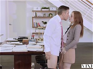 VIXEN Intern predominated By Her Father's business counterpart