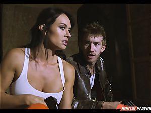 act vid intercourse vignette starring Franceska Jaimes and Lexi Lowe and humungous monster sausage Danny D