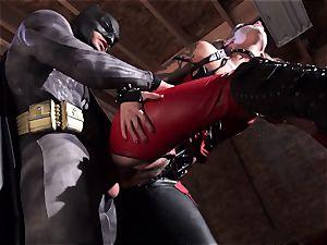 Kleio Valentien gives sloppy blowage to a superhero