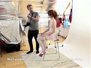 MY super-naughty ALBUM - super-hot Slovak model penetrates photographer