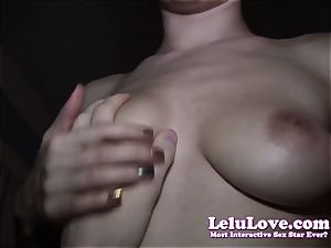 calmly pov fuckin' right next to wife in bed