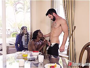 Charles Dera and Ana Foxxx hard romping session