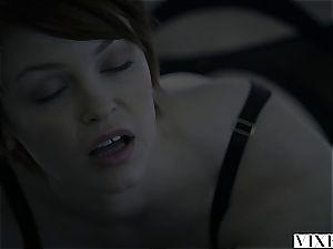 VIXEN sexy redhead Bree Daniels plowed By Sugar father