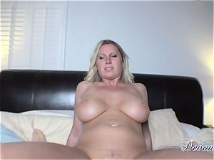Devon Lee gets herself nailed just the way she loves before getting gooed