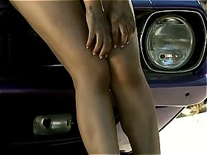 booty queen Valentina Nappi teasing you under the killer sun