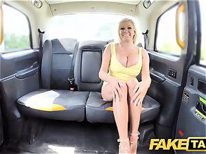 faux taxi fat baps towheaded Michelle Thorne