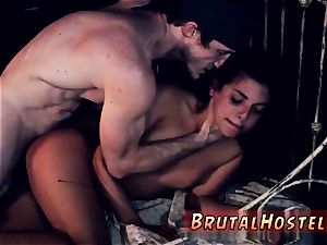rough military bang-out and bondage slave fucktoys skimpy lil' Latina nubile Gina Valentina is truly