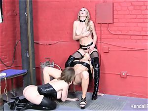 girly-girl 3 way with Kendall, Emily, and Brett