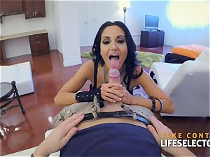 Ava Addams - fat boobs in action point of view