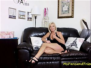 jizz on Mommy's milk cans with Ms Paris Rose