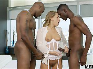 multiracial three way. milky lady luvs dark-hued weenies