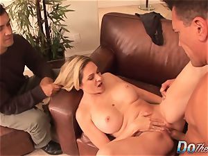 Housewife Angela Attison bum drilling