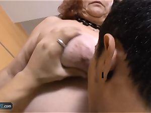 AgedLovE plumper granny Chubbies liking hard-core