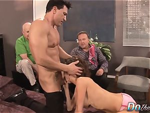 wifey unloads with another stud