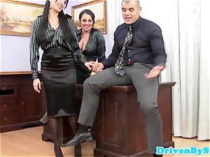 european assfucking 3some with Anissa Kate