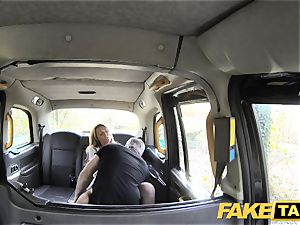 faux cab fantastic Welsh cougar with super hot assets
