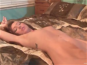 Maddy OReilly gets her gullet crammed with yam-sized spunk