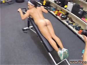 milky in my donk muscular nymph stretches Eagle For Cash!