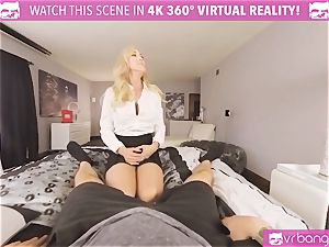 VRBangers.com-MILF is tucking a vibro in her coochie