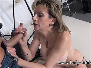 camera guy Face pokes Mature female Sonia