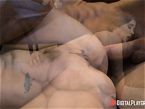 crazy brown-haired Gia Paige takes it deep up her gash