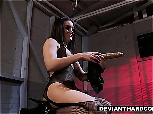 lezzie supremacy and strap-on action