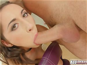 AllInternal Russian doll gets her amazing labia packed